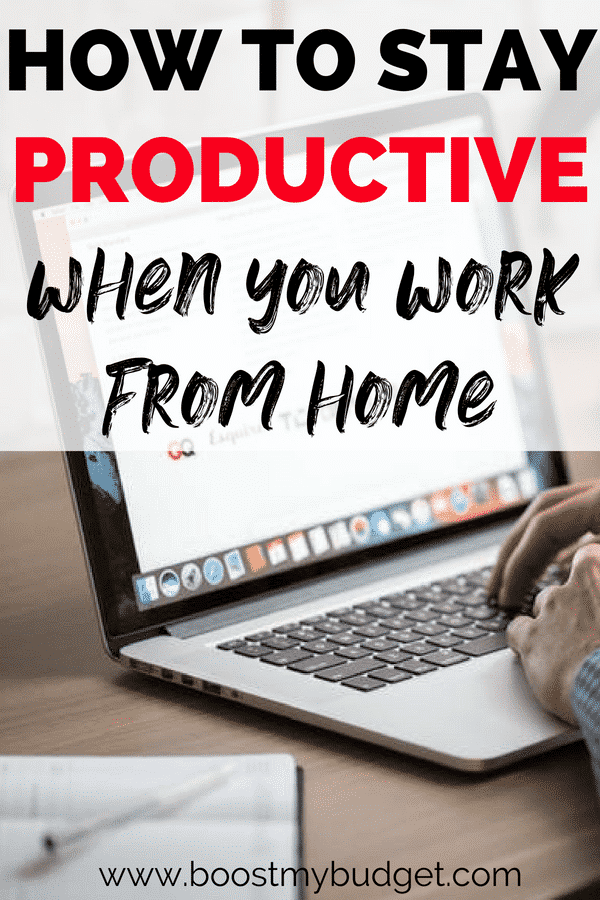 If you have a work from home job, it can be difficult to stay productive and happy! Especially if you also have kids and family responsibilities at home. Check out our 5 top tips to stay productive, healthy and happy with a work from home job,