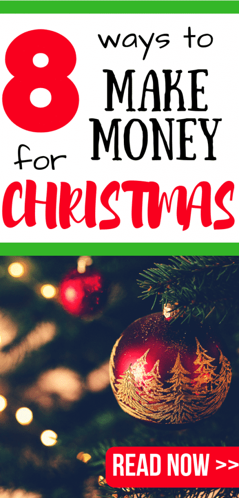 Make extra money for Christmas and give yourself a Christmas pay rise with these smart money making ideas! You can do most of these from home, perfect for fitting in around family or a day job.