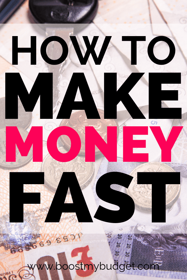 Ideas to make money fast. Do you need cash fast? This list of the quickest paying online survey sites, money making apps and ideas for services and jobs you can do for money is what you need.