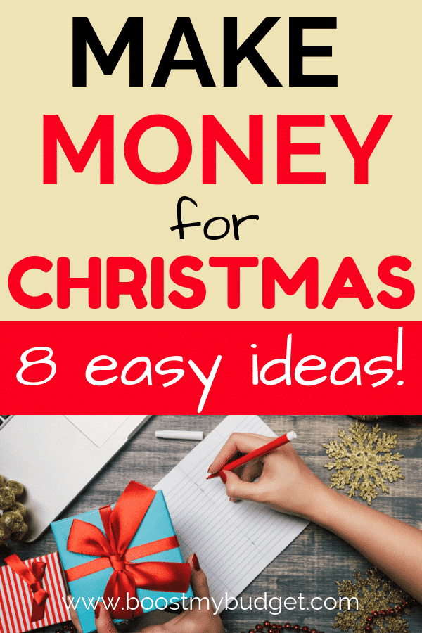 Do you need money for Christmas shopping this year? Click through for 8 easy ways to make extra cash for Christmas. You could make £100s by following these tips, even around kids and a day job!