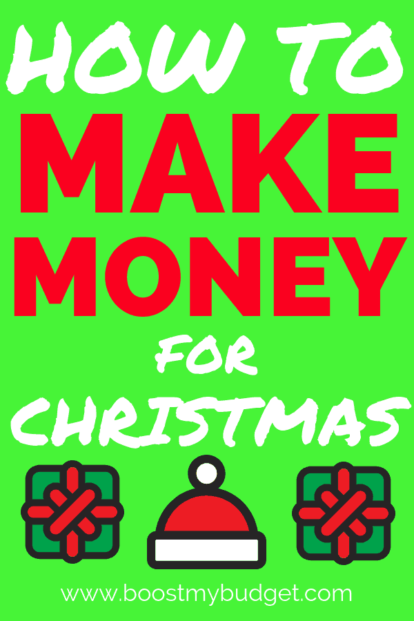 Want to make money for Christmas? Let me show you how to have a debt free holiday this year with these simple money making tips!