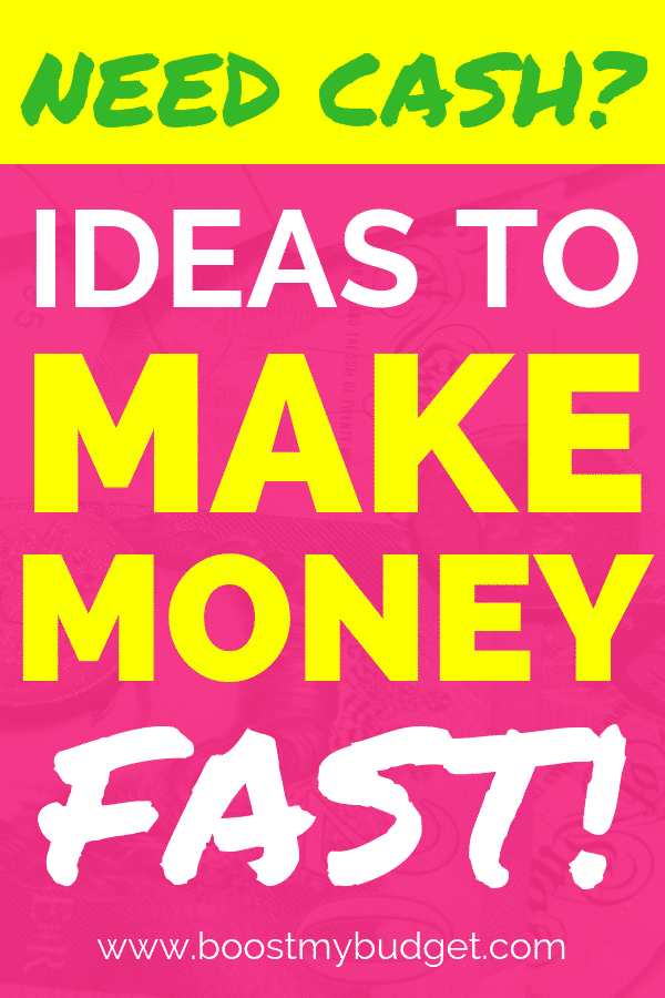 Do you need extra cash to see you through to the end of the month? Not all money making ideas are created equal. These ideas, hacks, apps and websites all pay out FAST. Start making extra money today!