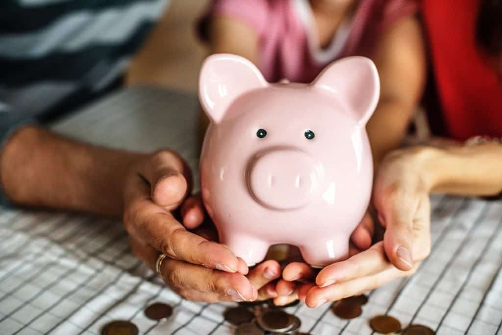 a piggy bank - how much money do you have in your house in old coins?