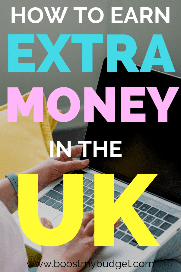 How to earn extra money in the UK. Over 40 side hustle ideas at this link!