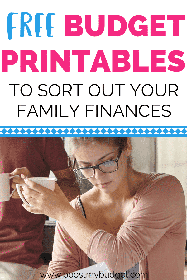 11 FREE budget printables to save your family money in 2019!