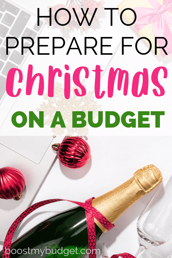 How to prepare for Christmas on a budget. Click through for my 17 best holiday money saving tips!