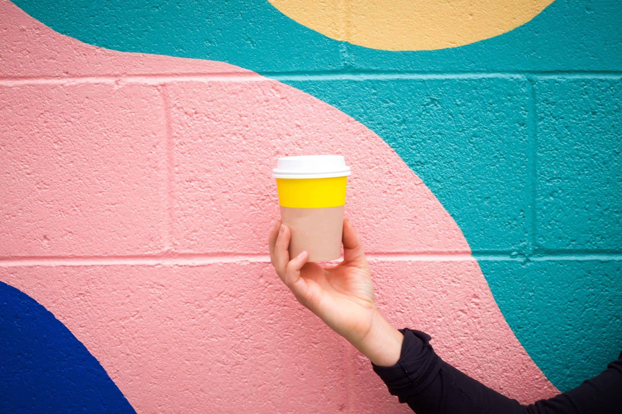 saving money hack - take a resuable coffee cup
