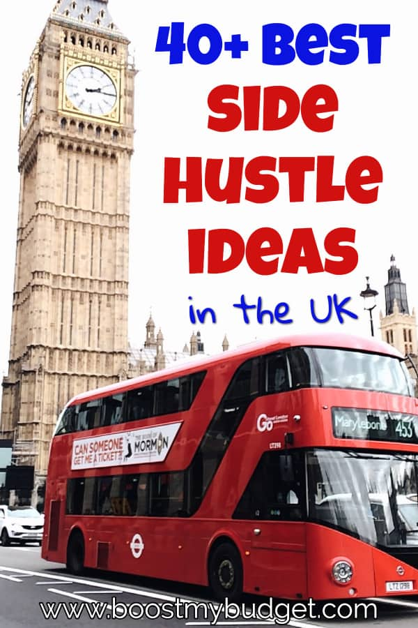 40+ of the BEST side hustle ideas in the UK! If you want to earn a side income in the UK, this is the post you need! Click through and start raking in that extra cash now!