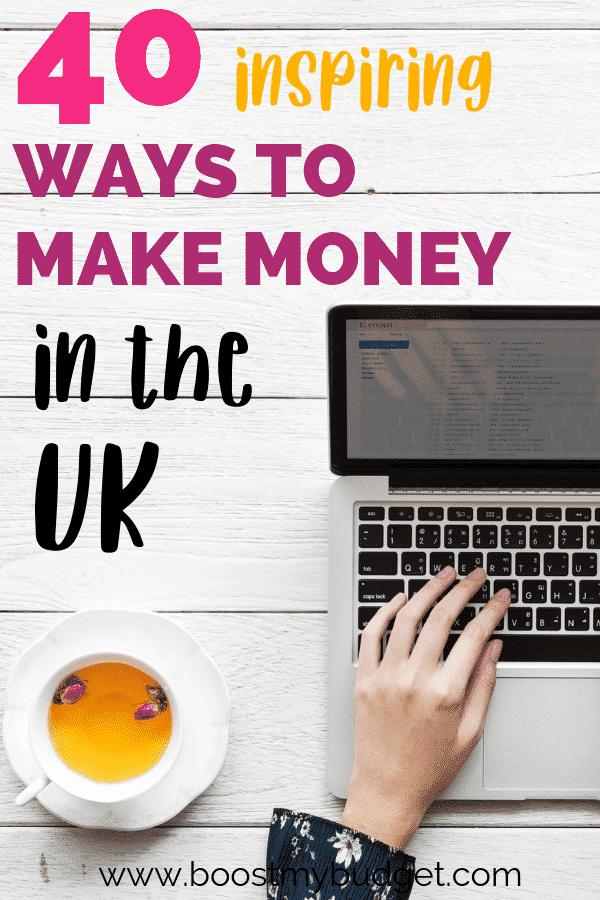 How to make extra money uk