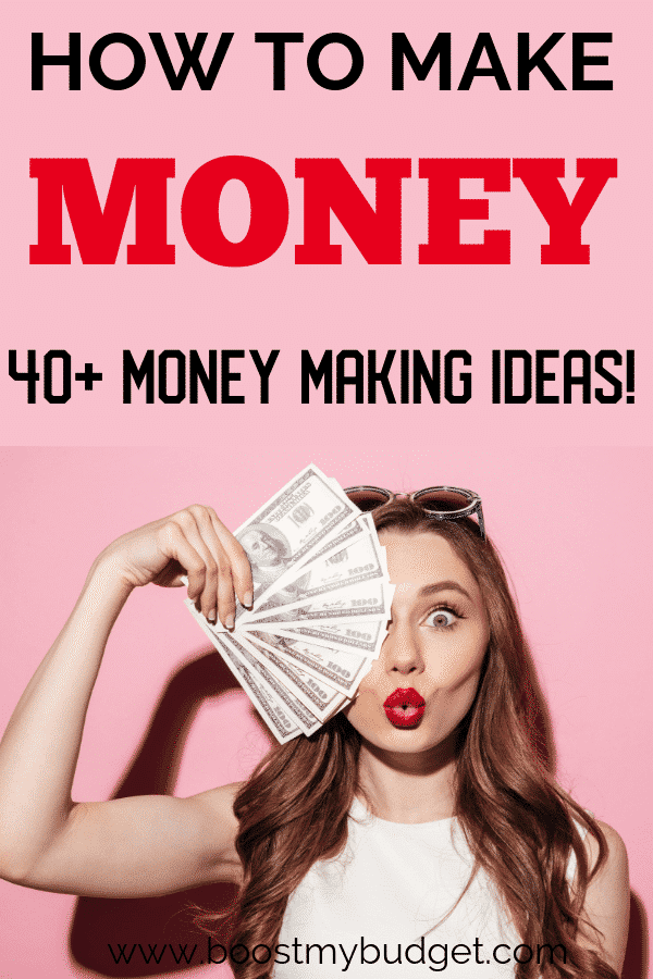 Are you looking for money making ideas? I have over 40 awesome resources in this round up of ways to make more money! Your next side hustle is waiting!