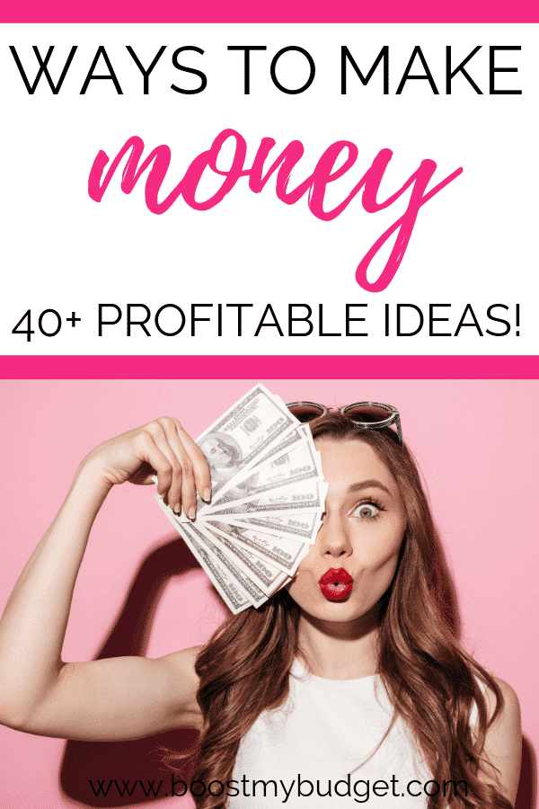 Want more money? Check out my list of over 40 ways to make money and work from home jobs!