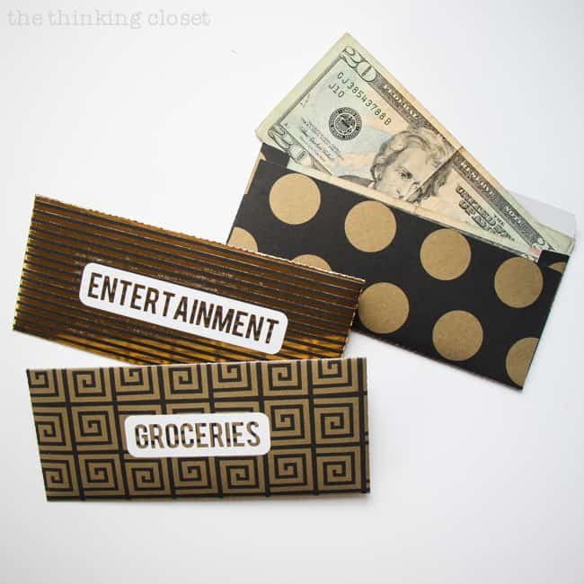 free budget printables - DIY Cash Envelopes