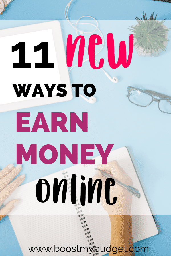 11 new ways to earn money online! Fed up of hearing the same old recommendations when it comes to making money from home? Here are 11 fresh ideas you haven't tried before! Click through now to find out more!