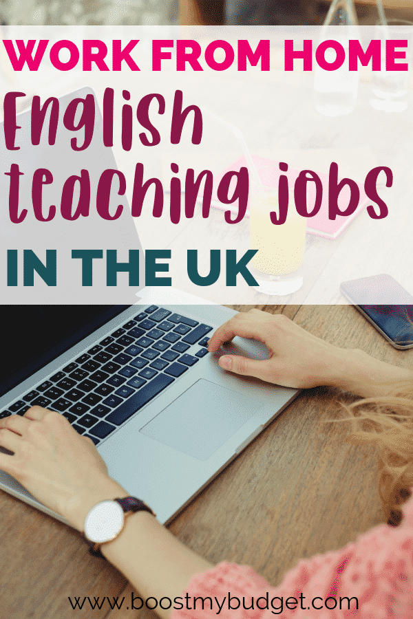 Wondering where to find work from home jobs teaching English online in the UK? Click through for my list of top recommended companies. Teaching English online is a fun side hustle idea!