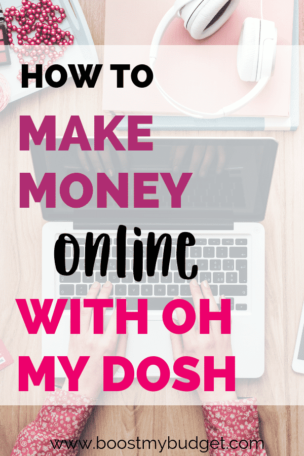 How to make money online with Oh My Dosh, a new site for making money online in the UK! I tested out this site and I have already received payment. But is this a legit way to make money online? Click through to find out!