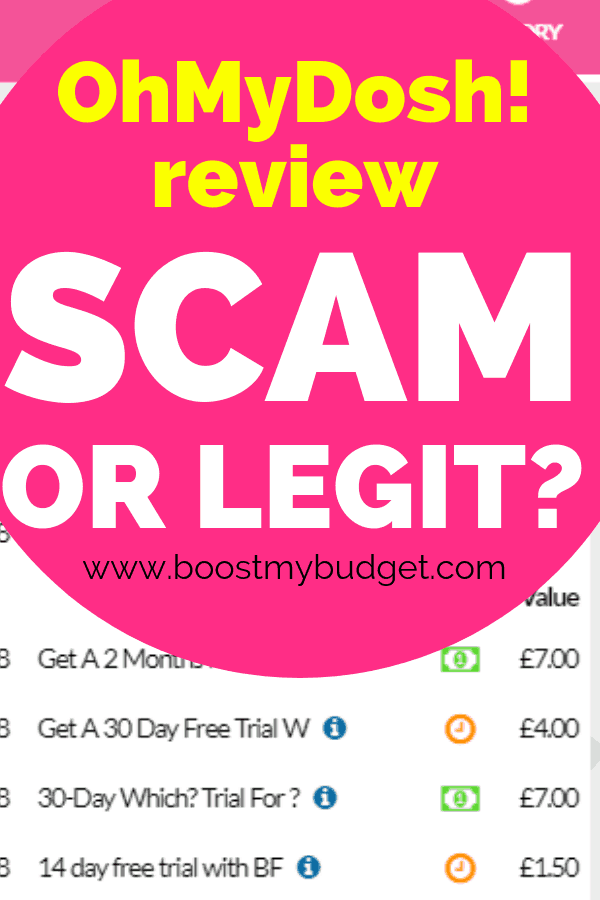 OhMyDosh! is a new site to make extra cash from home in the UK. But is it a legit way to make extra money? Click through to find out what happened when I tested it with my own money!
