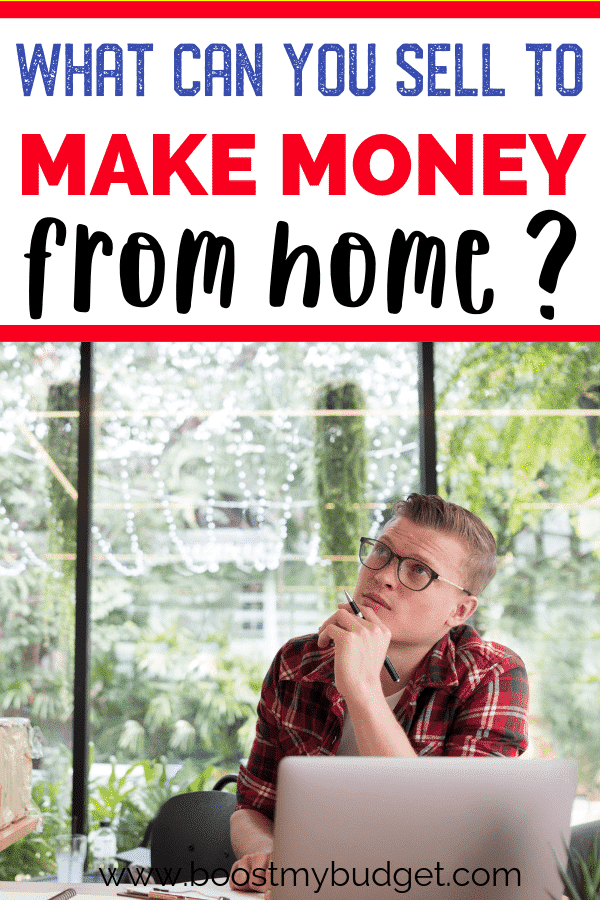 Wondering what can I sell to make money from home? Click through for ideas... some you've thought of, and some amazing ideas you never knew you could make money from! Learn the things to sell to make money fast here!