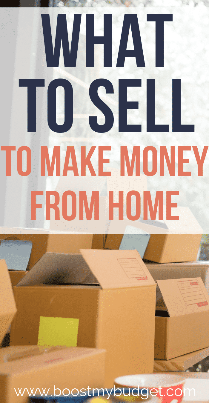 Wondering what you can sell to make money? Click through for ideas. Did you know you can even make money selling garbage such as empty glass jars and toilet roll tubes? It's true - click through for more!