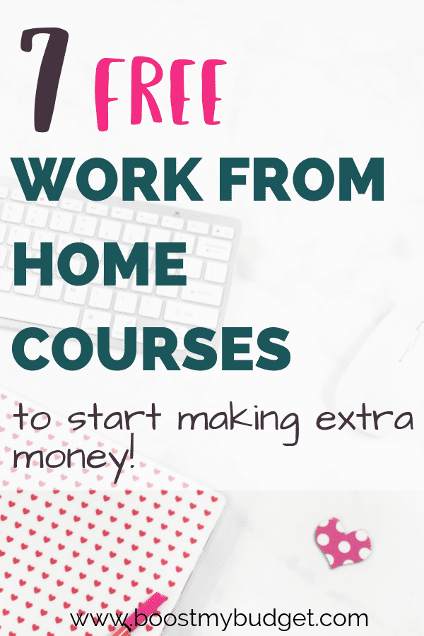 These work at home courses and resources are perfect for you if you're looking for a new way to make money from home. Explore your options for free and maybe find a new career too!