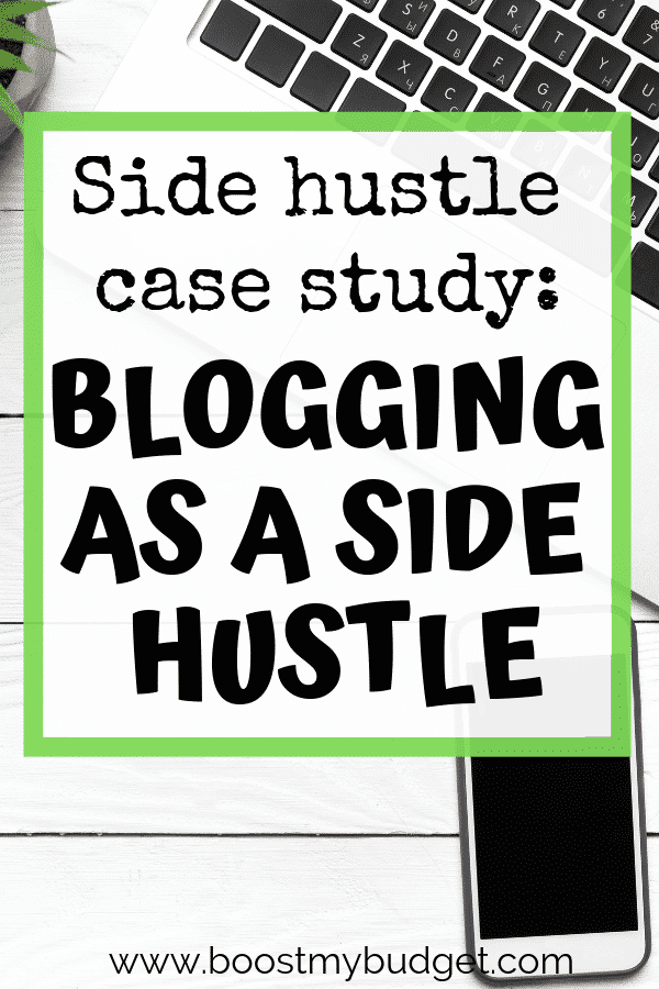 Looking for side hustle ideas in the UK? Check out this interview with Clare, who makes a FANTASTIC extra income each month from her blog - part time, alongside another job and other side hustles! She'll inspire you to start a blog yourself!