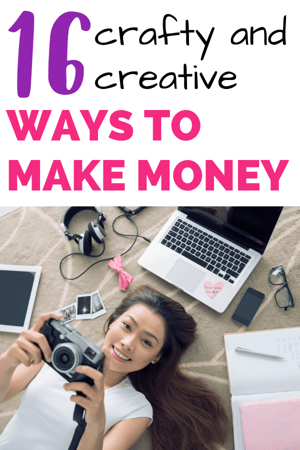 Awesome tips and ideas for creative people to make money from home! Want to work from home? Find your next business idea on this list.