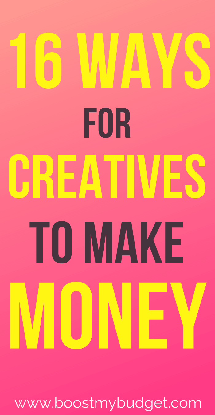 Are you a creative person who wants to work from home? Click through to this list of 16 creative ways to make money and find your next home business or side hustle idea here.