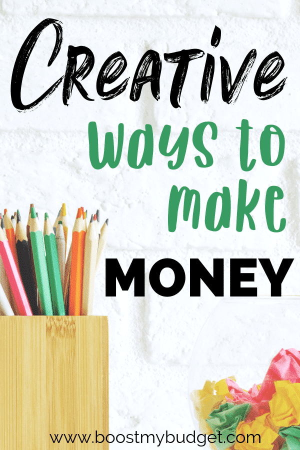 Looking for ideas of creative ways to make money? If you have talents in crafts, DIY, writing, photography or more, there are so many ways for you to make money from home doing what you love. Click through to learn more!
