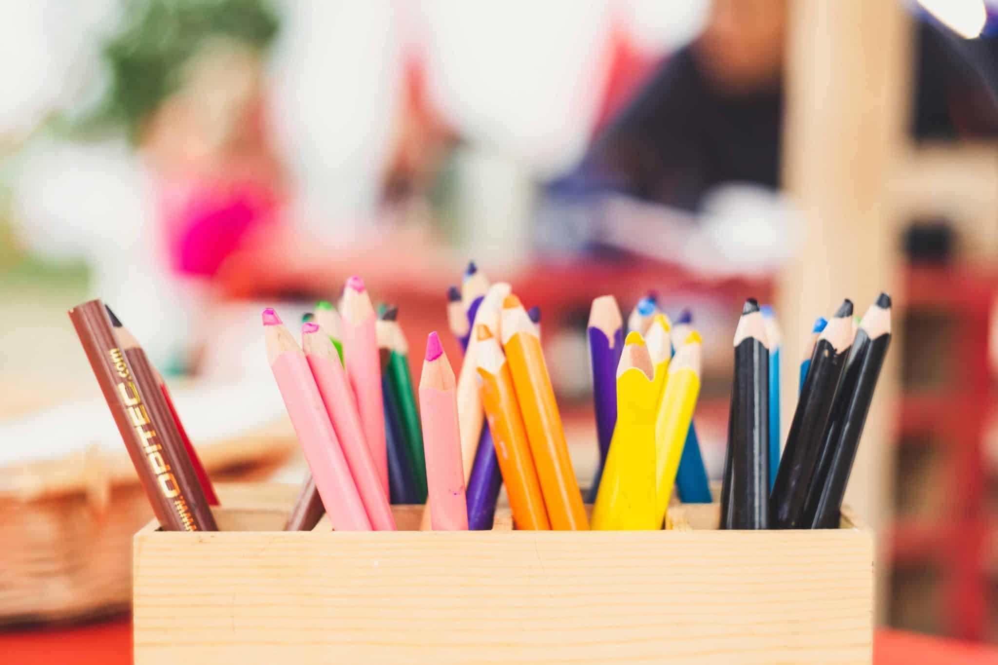 Colouring pencils. Colouring is a big industry now, so it could be a potential way to make money!