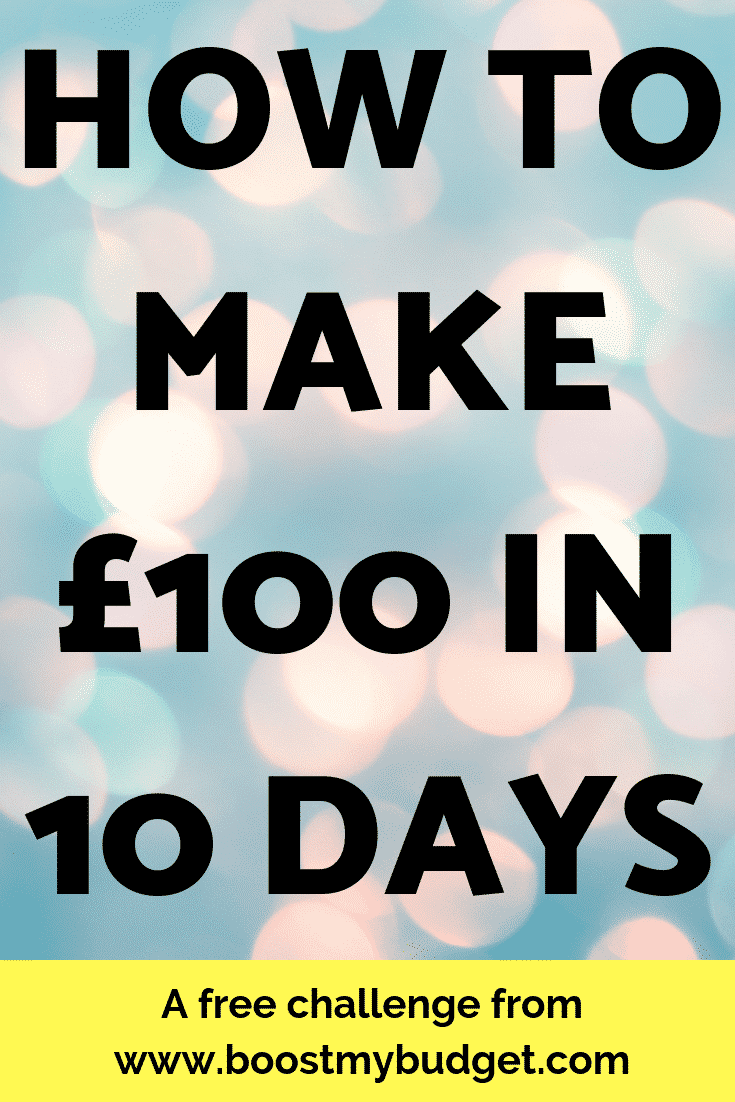 How to make £100 - in just 10 days! Yes, it is possible :) Sign up for this free course and learn EXACTLY what how to make extra money from survey sites, money making apps, websites to make money online and more.