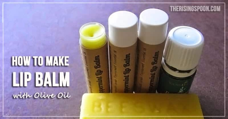 olive oil lip balm
