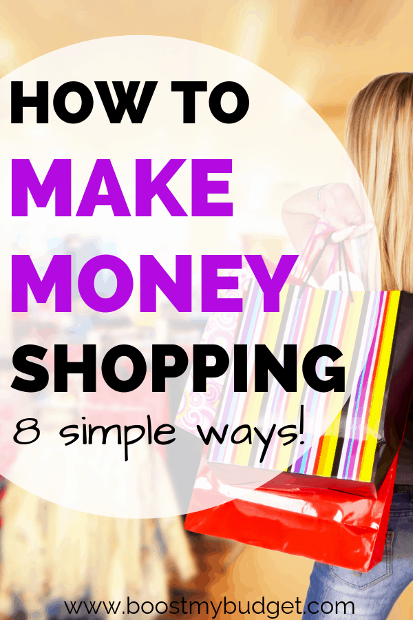 Looking for a fun new way to make extra cash? Check out these 8 simple ways to make money shopping! Yes, no lie, you can get paid to shop - whether that's online or a day out in your local shopping centre. Click through to find out how!