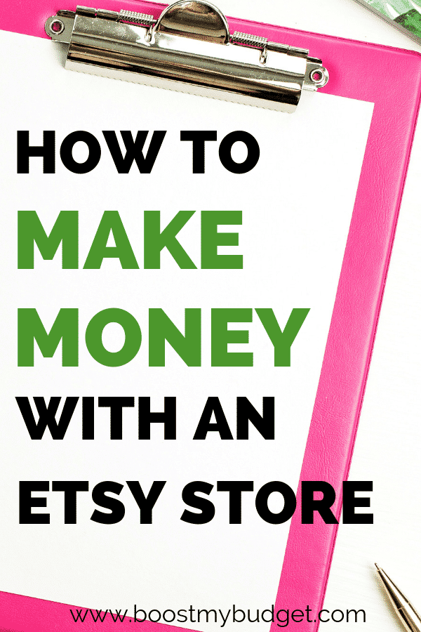 How to make money with an Etsy shop! This crafter makes money online with her homemade crafts each month. Find out how you can do the same - it's the perfect home business idea for female entrepreneurs!
