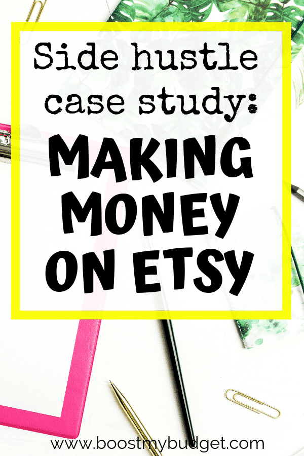 Thinking about starting an Etsy shop? This case study will show you how Laura set up her store and makes money online each month with her craft business!