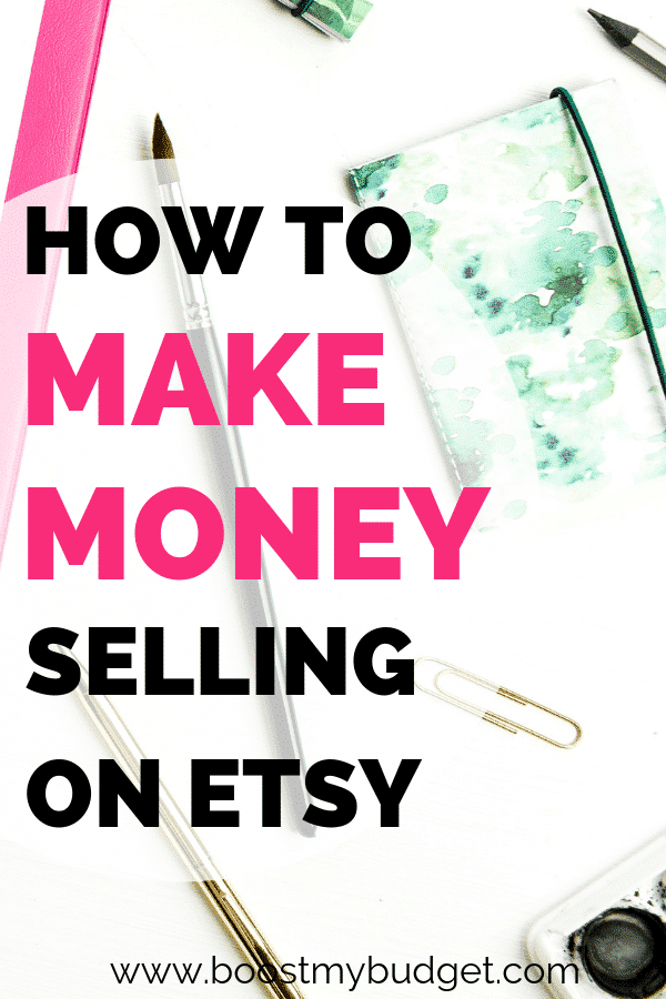 Want to learn exactly how to make money selling on Etsy? In this side hustle case study, Laura tells us exactly how she set up her Etsy store selling T shirts online, and how much she makes each month!