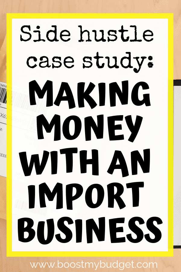 Looking for new side hustle ideas in the UK? Charlotte runs her own wholesale business, importing craft goods from China and selling them in the UK. She has seen incredible success in her first year! Click through to learn how to make money with this small business model!