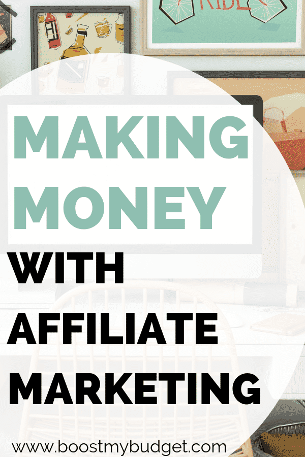 Interested in making money online with affiliate marketing? In this interview we learn how it works from someone who makes money this way every month! Click through to find out how to get started and how much you could make with this side hustle idea!