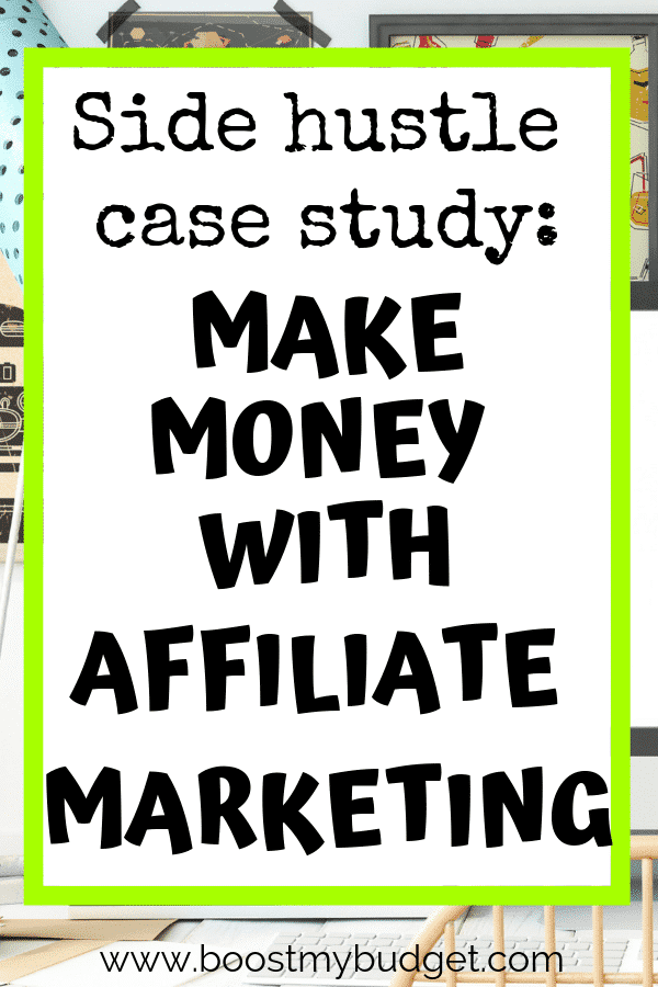 Looking for side hustle ideas in the UK? Affiliate marketing is a great way to make money online. This case study is a great guide to affiliate marketing for beginners. Click through to learn how to get started!