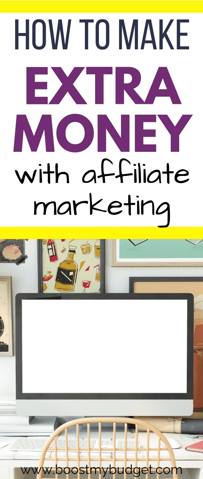 Wondering about making money online with affiliate marketing? Yes, you can do affiliate marketing without a blog! Make money by sharing your affiliate links on Pinterest and social media. This guide shows you how!