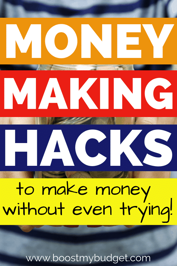 Money making hacks! Here are 5 easy and fun ways to make extra money at home, with no effort! These apps and websites pretty much give out free money. Number 1 is my favourite - just download and earn. It's a no-brainer!