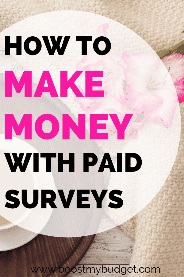 Want to make money online? Paid surveys are a great place to start. This post is packed with tips on taking surveys for money, including THE best paying site to sign up with first!