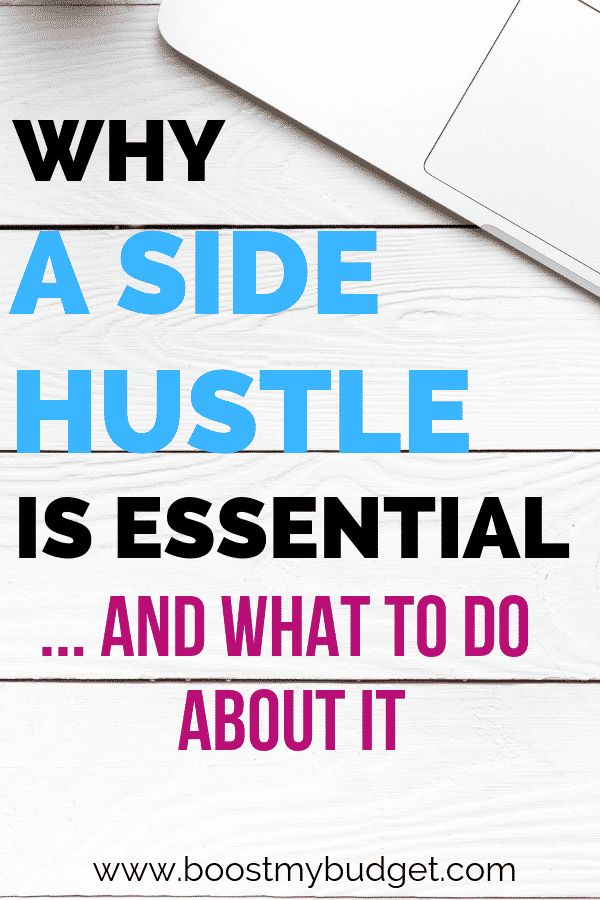Thinking about starting a side hustle? You should be! Here's why a side hustle is essential, plus lots of ideas to get you started earning extra cash.