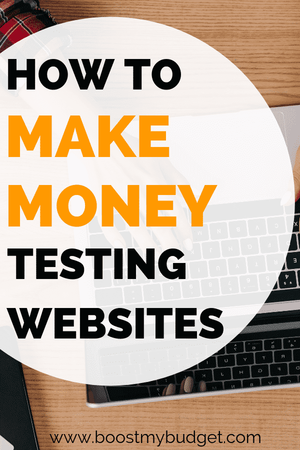 Looking for new ways to make money online? Website testing is a super easy and fun way to make money that anybody can try! In this post, a website tester shares how much they make and how to get started. Click through for details!