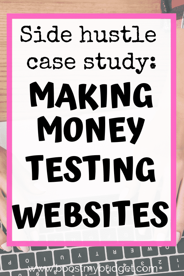 Looking for side hustle ideas in the UK? I recommend website testing, an easy and fun way to make money from home that pays well for a few minutes work! In this case study, website tester Victoria shares how much she makes and how to get started, including her favourite site!