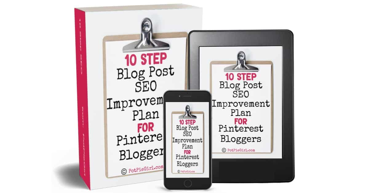 Cover of the 10 step SEO Improvement plan ebook