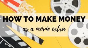 How to Make Money as a Movie Extra
