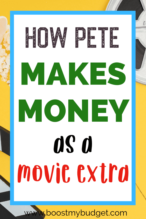 Looking for side hustle ideas? How about working as a movie extra? In this interview, Pete shares how he got his first job as a film extra and how much money he makes with his side hustle!