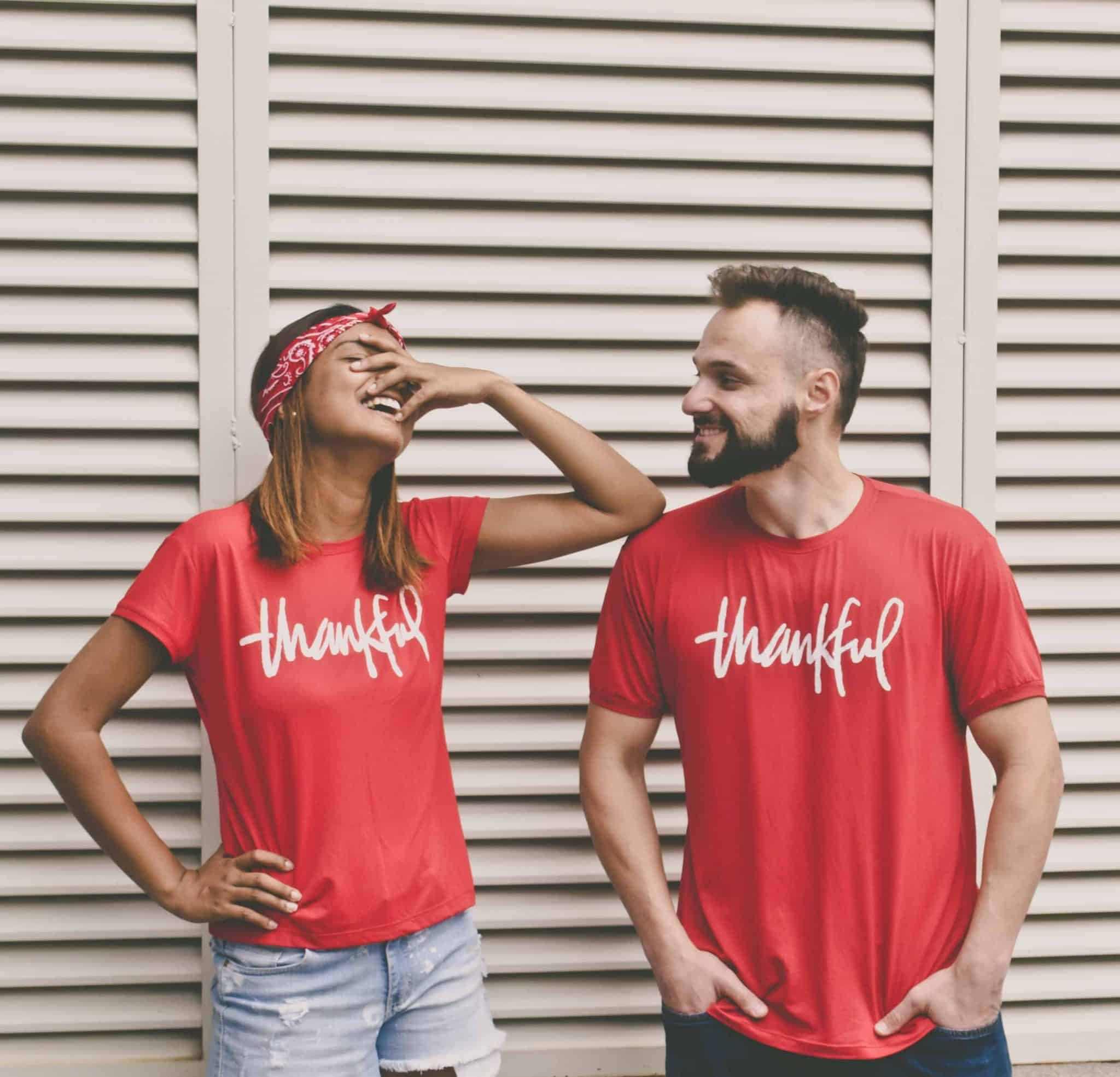 selling t shirts online - simple one word text design t shirts
