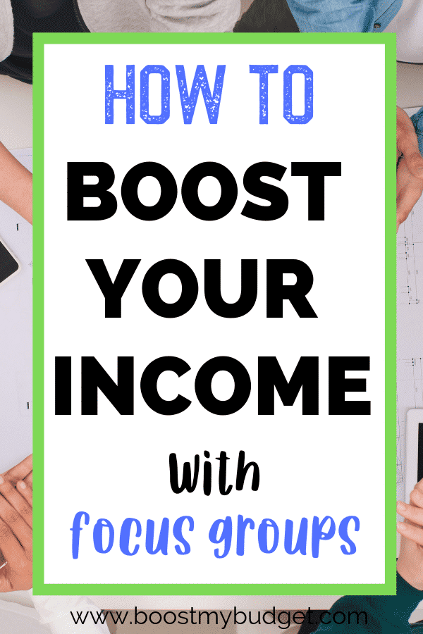 Want to make extra money in the evenings after work? Focus groups pay £50-£90 per session. It's the perfect part time side hustle for busy people! This post has all the details, including where to sign up.