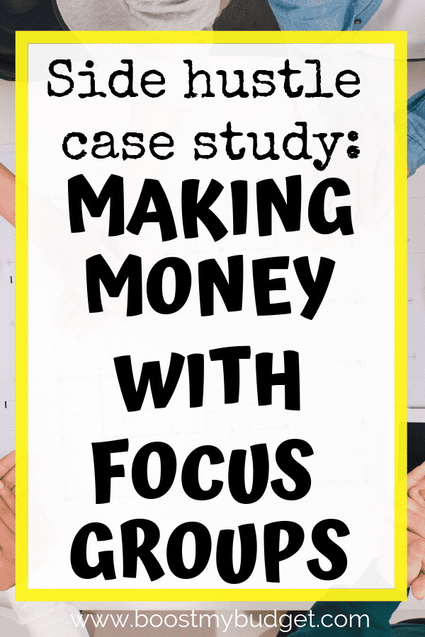Are you looking for ways to make extra money in the UK? Have you heard about focus groups - they pay upwards of £50 an hour!! If you're looking for side hustle ideas this is one to consider. Click through for a list of companies to sign up with.