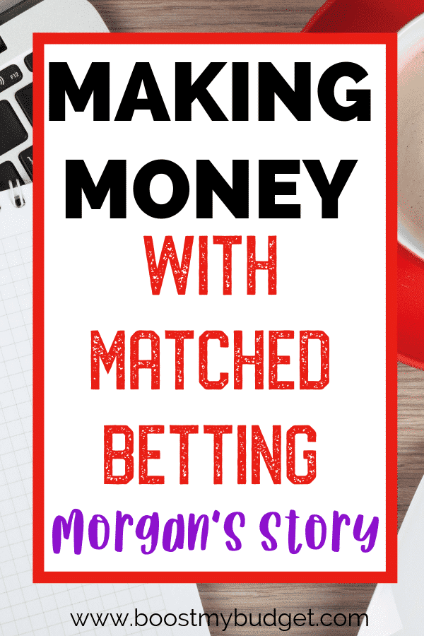 Morgan's matched betting story! If you've ever been interested in this amazing way to make money online, read through this interview to learn more. This is an easy way to make money online with little cost and no website or blog!